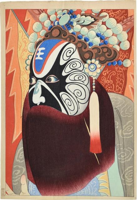 Yamamura Kōka, 'Actor in a Chinese Opera', ca. 1924, Scholten Japanese Art