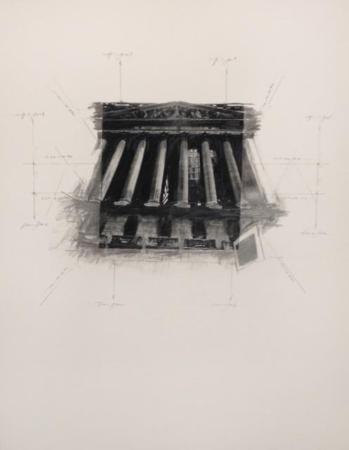 , 'Stock Exchange in Space #1,' 2014, Octavia Art Gallery