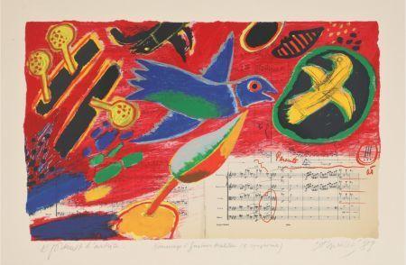 Guillaume Corneille, ' Hommage à Gustave Mahler', 1989, Le Coin des Arts