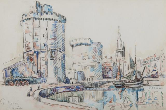 Paul Signac, 'La Rochelle', Unknown, HELENE BAILLY GALLERY
