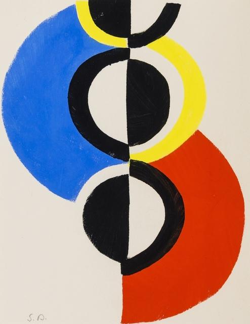 Sonia Delaunay, 'Rythm Sans Fin', 1956, Print, Pochoir in colours, Forum Auctions