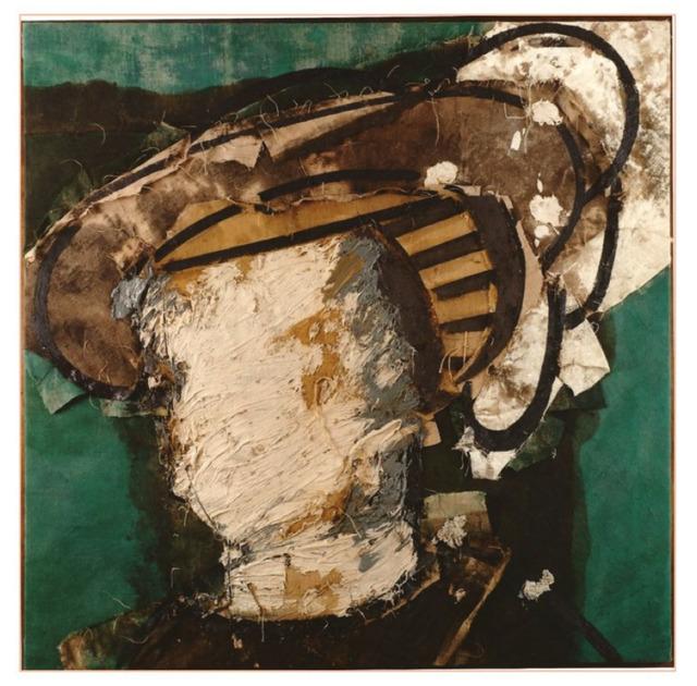 , 'Rostro sobre verde,' 1997, Galeria Freites
