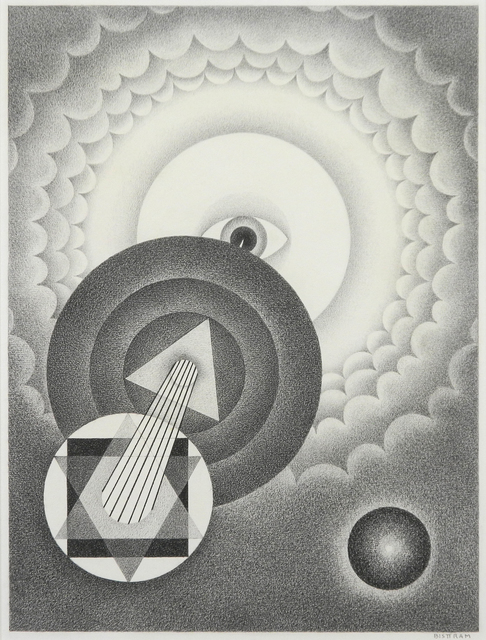 , 'Untitled Abstraction,' ca. 1940, Addison Rowe Gallery