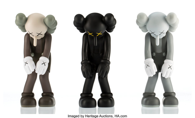 KAWS, 'Small Lie (three works)', 2017, Heritage Auctions