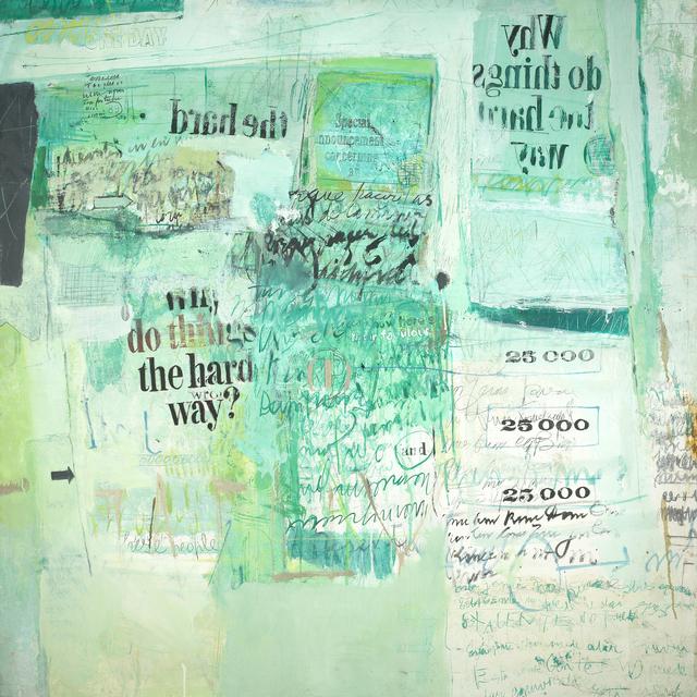 Sarah Grilo, 'The Hard Way', 1968, Painting, Oil on canvas, Jorge Mara - La Ruche