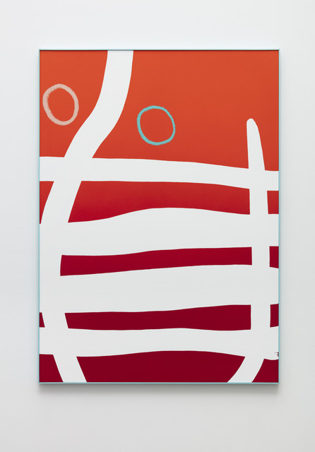 Cornelia Baltes, 'Yeb', 2020, Painting, Acrylic and oil stick on canvas, Galleri Nicolai Wallner