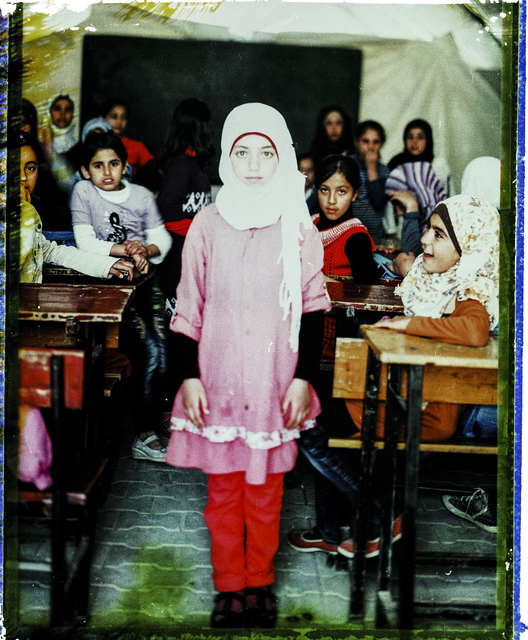 , 'Fifth Grade Students. From Soliman's Tent Series, Adana Turkey,' 2014-2015, Hafez Gallery