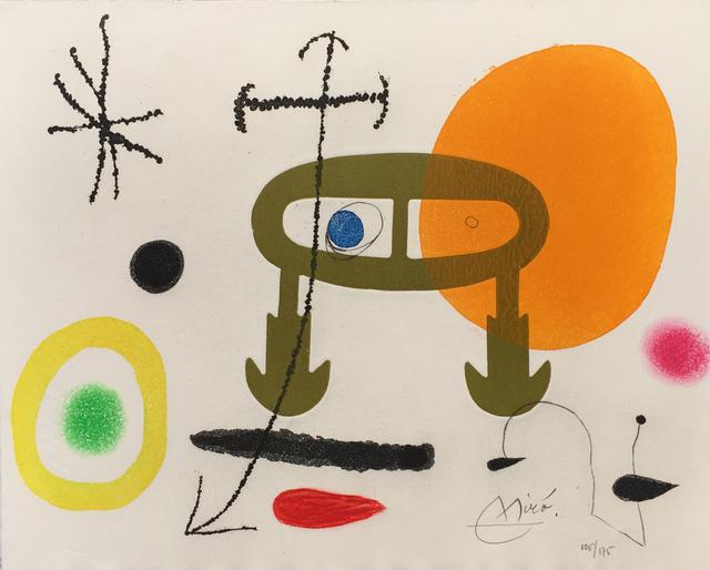 Joan Miró, 'Je n'ai jamais appris a lire ou Les Incipits', 1969, Denis Bloch Fine Art