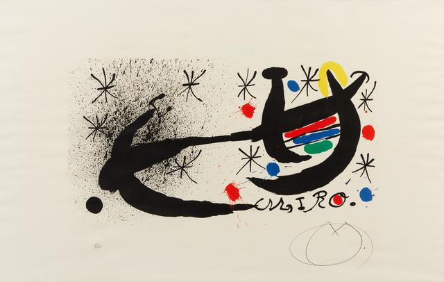 Joan Miró, 'Variant of 'Joan Miró and Katalonien'', 1969, Hindman