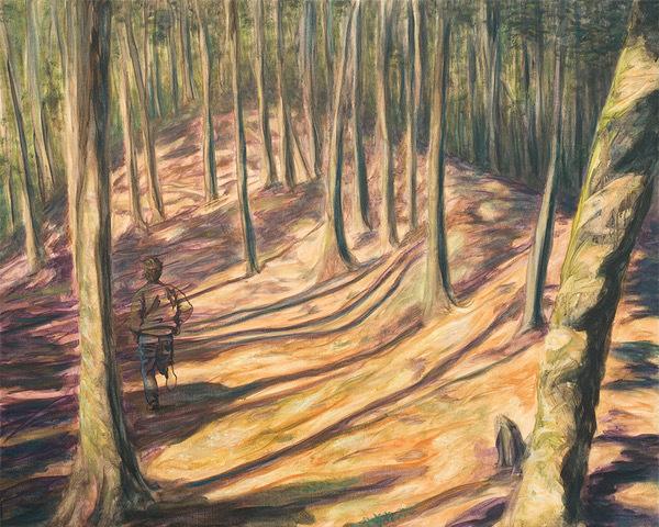 Bernard Ammerer, 'Vanishing Point 1', 2018, Painting, Oil on canvas, Galerie Frey
