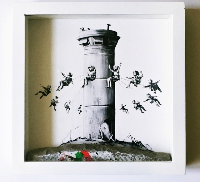 Banksy, 'Walled Off Hotel Boxed Set Assemblage', 2017, Alpha 137 Gallery Auction