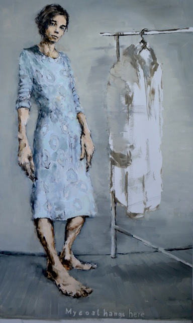 , 'My coat hangs here,' 2016, Galerie Arcturus