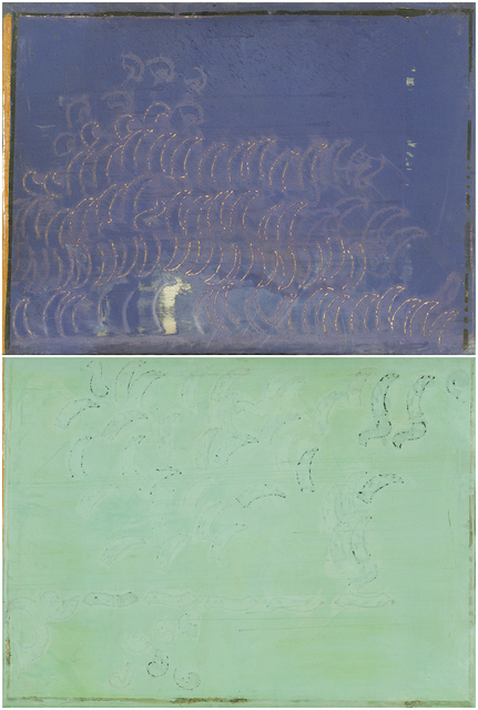 , 'Untitled (two panels),' 1980s, Resource Art