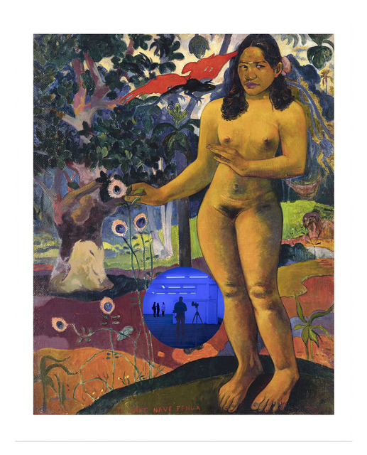, 'Gazing Ball (Gauguin Delightful Land),' 2017, David Zwirner