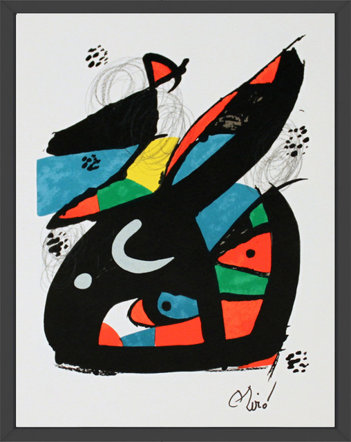 Joan Miró, 'Untitled from La Melodie Acide XVII', 1980, ArtWise