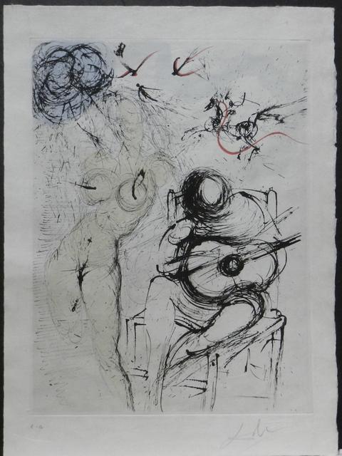 Salvador Dalí, 'Poems Secrets Nude With Guitar', 1967, Fine Art Acquisitions