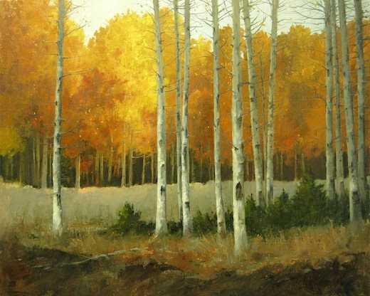 , 'Aspen Glow,' , Sorrel Sky Gallery