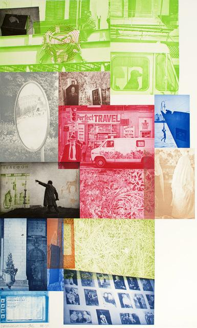 Robert Rauschenberg, 'Soviet American Array VI', 1988-1990, Print, Intaglio in 16 colors on Saunders Paper, Gregg Shienbaum Fine Art