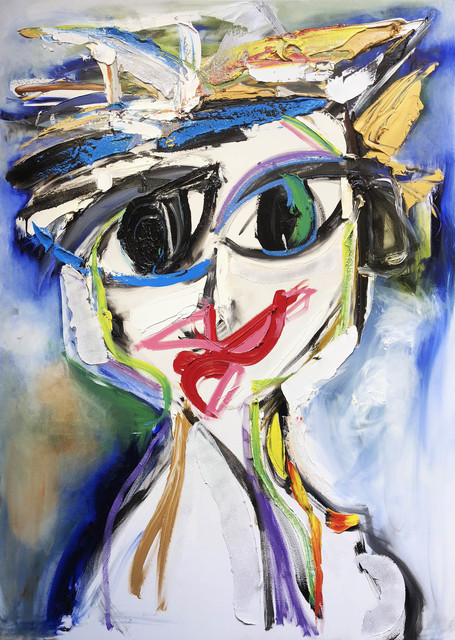 , 'Self-Portrait In Da Club,' ca. 2018, Samuel Lynne Galleries