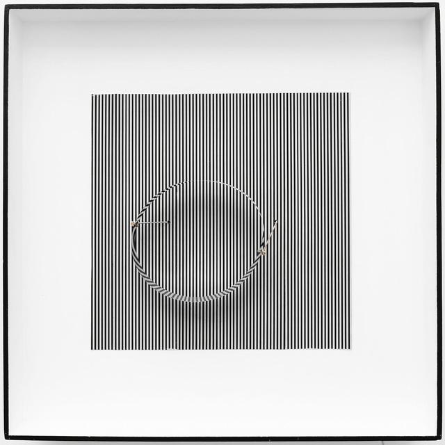 , 'Cercle en contorsion sur trame,' 1965, Bugada & Cargnel