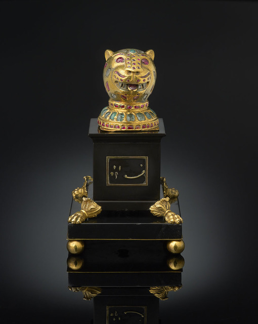 , 'Finial from the throne of Tipu Sultan, Kingdom of Mysore,' ca. 1787–1793; plinth ca. 1800., Legion of Honor