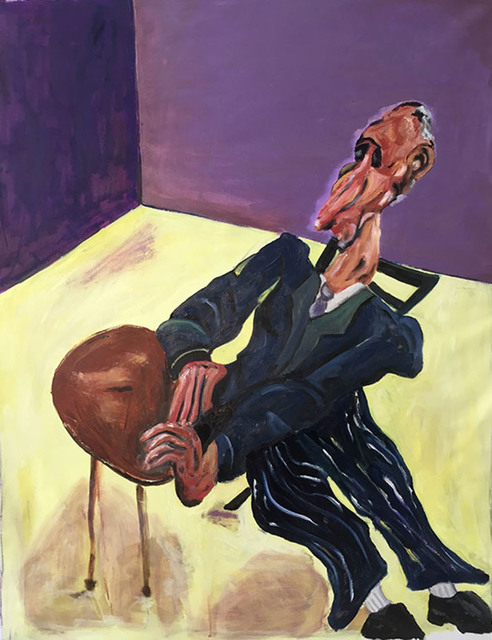 , 'Man with a Big Nose (after Soutine),' 2015, The Lionheart Gallery