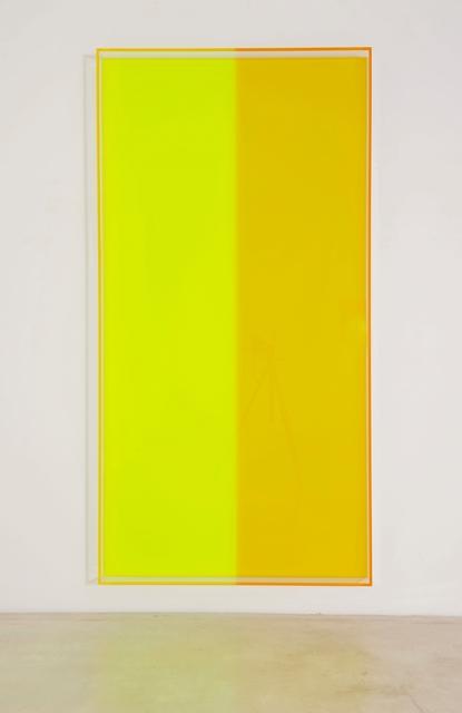 , 'colormirror yellow green bonn,' 2018, Galerie Judith Andreae