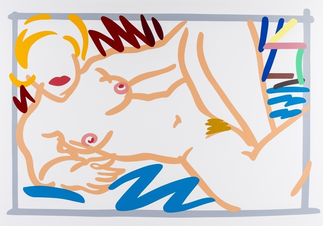 Tom Wesselmann, 'Judy With Blue Blanket', 1988, Forum Auctions