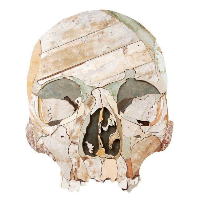 , 'Large Skull,' 2013, The Garage Amsterdam
