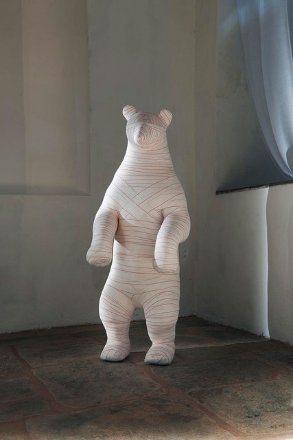 , 'Plush Mummy Big Mouse,' 2014, Valérie Bach