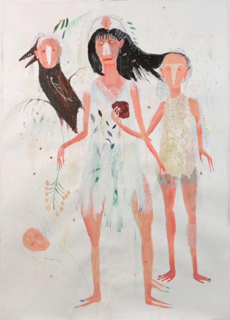 , 'Dagli occhi piante, dal cuore occhi,' 2013, Robert Kananaj Gallery