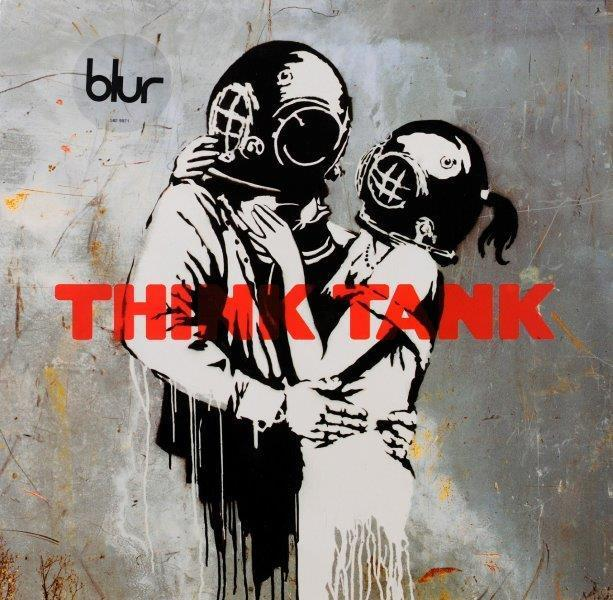 Banksy, 'Blur - Think Tank', 2000-2010, Print, Offset printing on vinyl cover and vinyl record, NextStreet Gallery