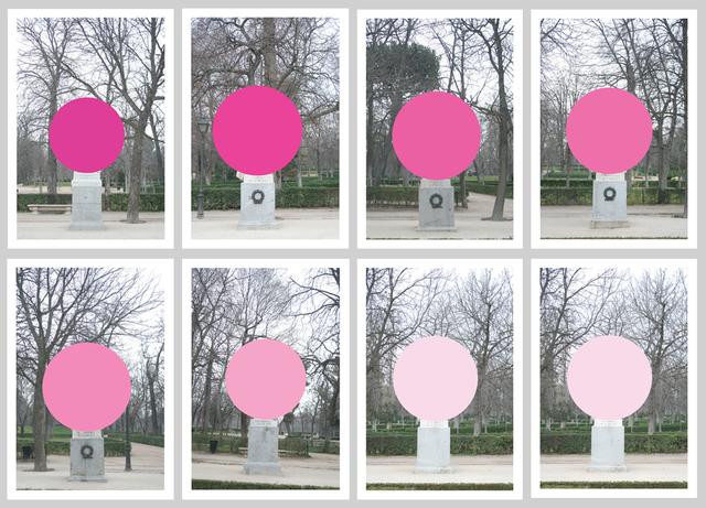 , 'Monumentos,' 2015, Galería de la Oficina