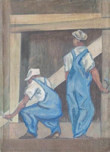 , 'Obreros,' No date / Sin fecha, Andrés Siegel / Arte