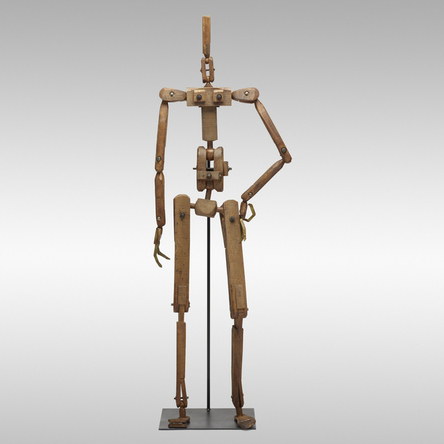 'Articulated mannequin', c. 1930, Other, Stained beech, steel, brass, Rago/Wright