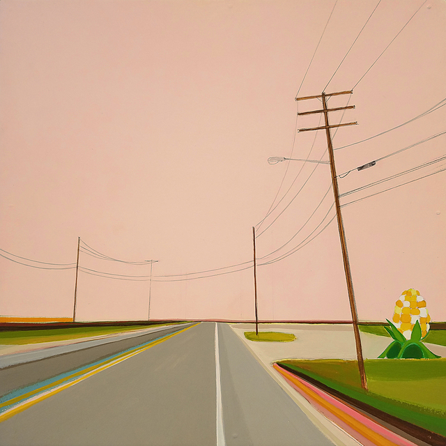 , 'Welcome to Bridgehampton,' 2007, Roman Fine Art