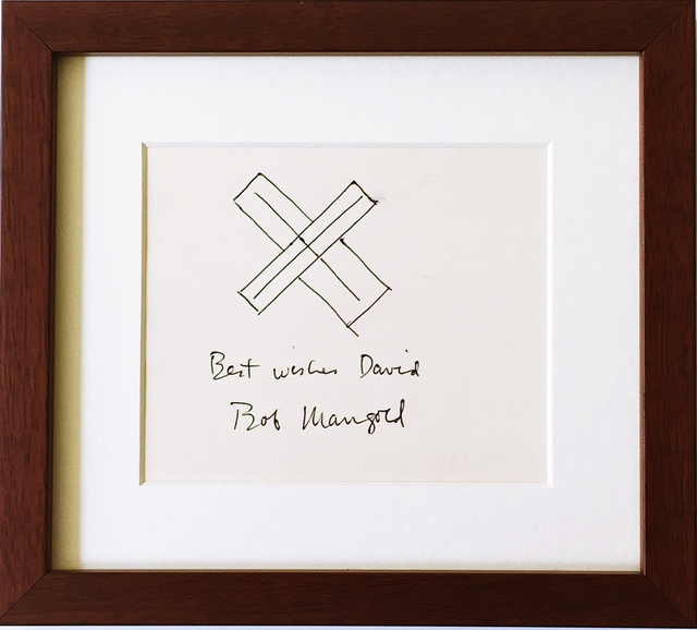 Robert Mangold, 'Original ink drawing. Hand signed and inscribed.', ca. 1980, Alpha 137 Gallery