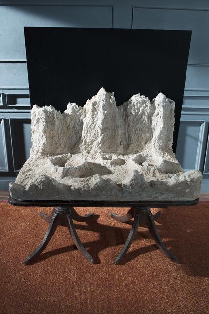 """Bill Finger, 'After Nasmyth's """"Ideal Lunar Landscape""""', 2012, Circuit Gallery"""