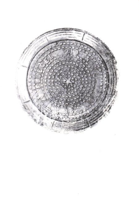 , 'Manhole,' 2017, Fernando Luis Alvarez Gallery