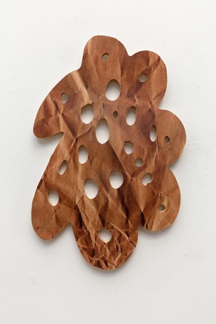 , 'brown paper bag,' 2017, Erin Cluley Gallery