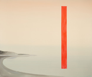 Wanda Koop, 'Landscape with Red Bar,' 2008, Waddingtons.ca: Highlights from Concrete Contemporary Auctions and Projects
