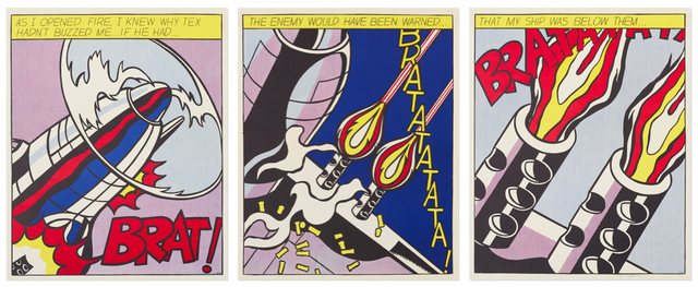 Roy Lichtenstein, 'As I opened Fire', 1966, Van der Vorst- Art