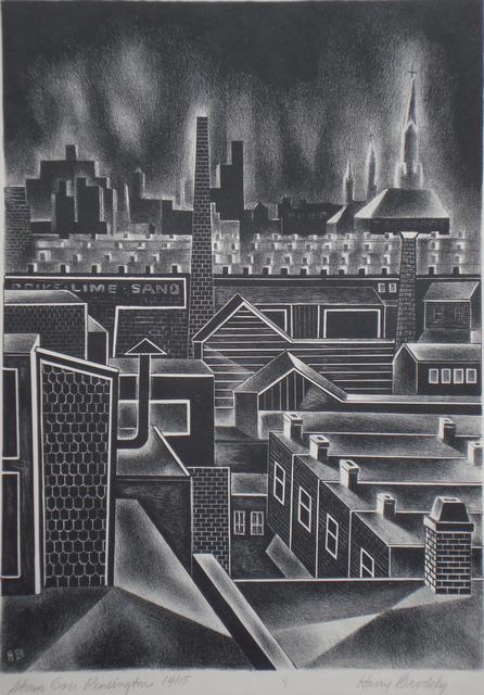 , 'Storm Over Kensington (Philadelphia, PA),' 1938, Childs Gallery