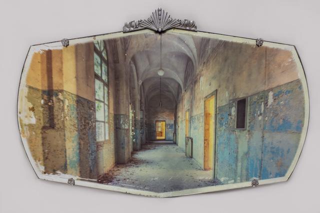 , 'Asylum Corridor on Mirror,' 2018, Charlie Smith London