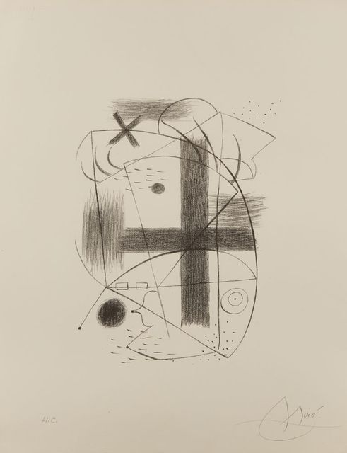 Joan Miró, 'Lithographie II [Maeght 1A]', 1930, Roseberys