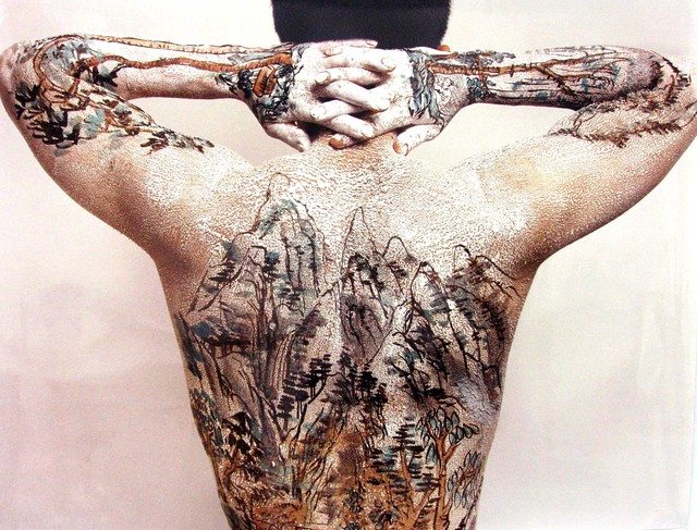 Huang Yan, 'CHINESE SHAN SHUI TATTO SERIES : BACK', 2005, Galerie Loft
