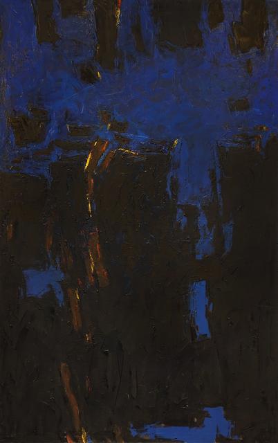 , 'Blue-Black,' 1958, Hollis Taggart Galleries