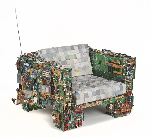 , 'Binary Chair 01,' 2011, Industry Gallery