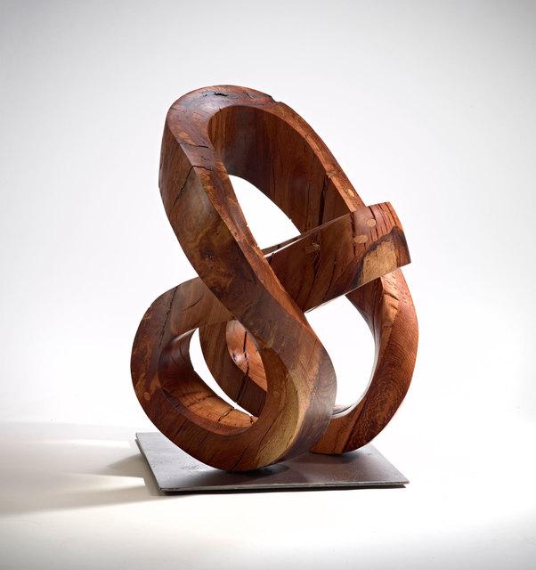 Sam Perry, 'Introspection', 2019, Sculpture, Wood, steel, Rena Bransten Gallery