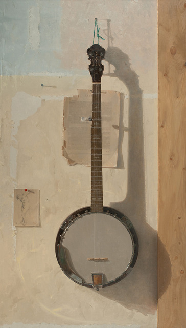 Jacob Collins, 'Banjo with Drawing', 2015, Grenning Gallery